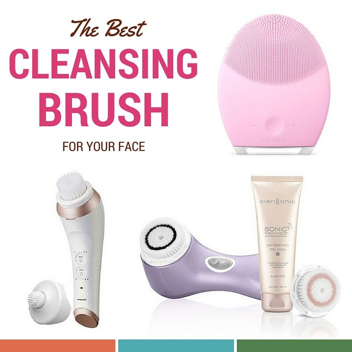 Find your best facial cleansing brush - Savvy Sassy Moms