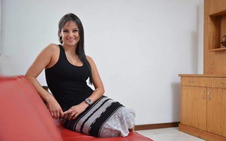 Eliana Franco, la presentadora y modelo paisa nos invitó a su casa http://www.metrocuadrado.com/decoracion/content/eliana-franco