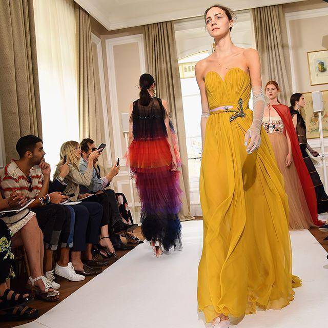 La firma francesa Schiaparelli conquista en la Semana de Alta Costura en París con su propuesta para #FW18 en la que la feminidad de la mujer se ve reflejada en diseños con siluetas indefinidas y transparencias en una amplia gama de colores. #BazaarMx #HauteCoutureWeek #Schiaparelli #HarpersBazaarMx  via HARPER'S BAZAAR MEXICO MAGAZINE OFFICIAL INSTAGRAM - Fashion Campaigns  Haute Couture  Advertising  Editorial Photography  Magazine Cover Designs  Supermodels  Runway Models