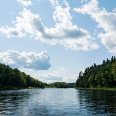 Miramichi River, New Brunswick, Canada