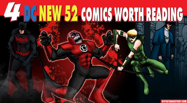 "Not a rant, just a little talk about 4 DC ""New 52"" comics worth reading."