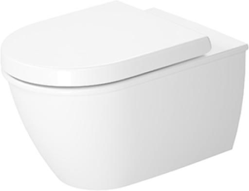 Darling New Toilet wall-mounted Duravit Rimless® #255709 | Duravit