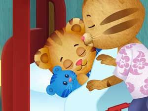#KidAppOfTheWeek: Daniel Tiger's Day & Night by PBS KIDS - an app designed to help kids learn about morning and bedtime routines