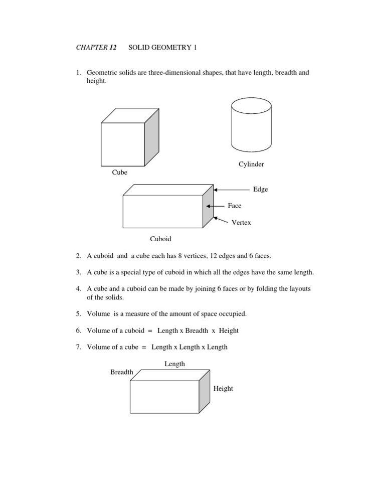 25+ best ideas about Solid geometry on Pinterest   Geometry ...