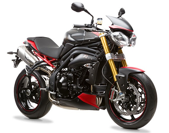Triumph Speed Triple R Dark Motorcycle | UK Exclusive