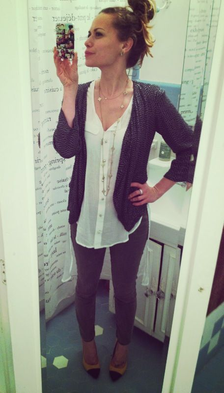 bethany joy lenz. Cute outfit and accessories