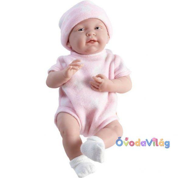 Élethű lány játékbaba rózsaszín ruhában Berenguer  150b8b7941