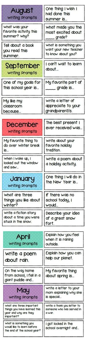 best journal prompts for kids ideas kid  writing prompts for the whole year teacherspayteachers com
