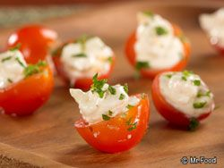 Bistro Stuffed Tomato Bites | EverydayDiabeticRecipes.com