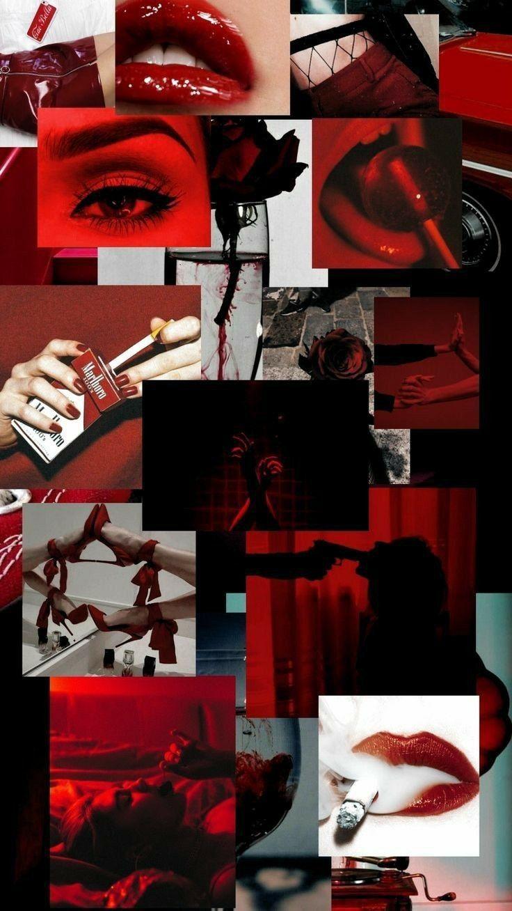 Wallpaper Tumblr Red Em 2020 Papel De Parede Vermelho Papel De Parede Hippie Papel De Parede Roxo