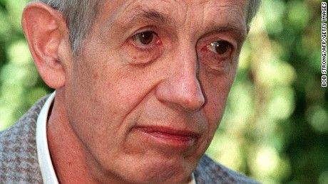"John Nash, mathematician on whom ""A Beautiful Mind"" was based, dies in traffic accident. 5/23/2015"