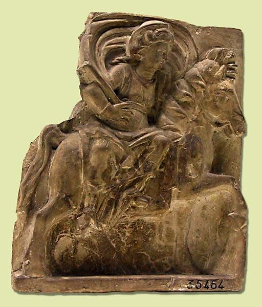 Goddess Epona from Gannat