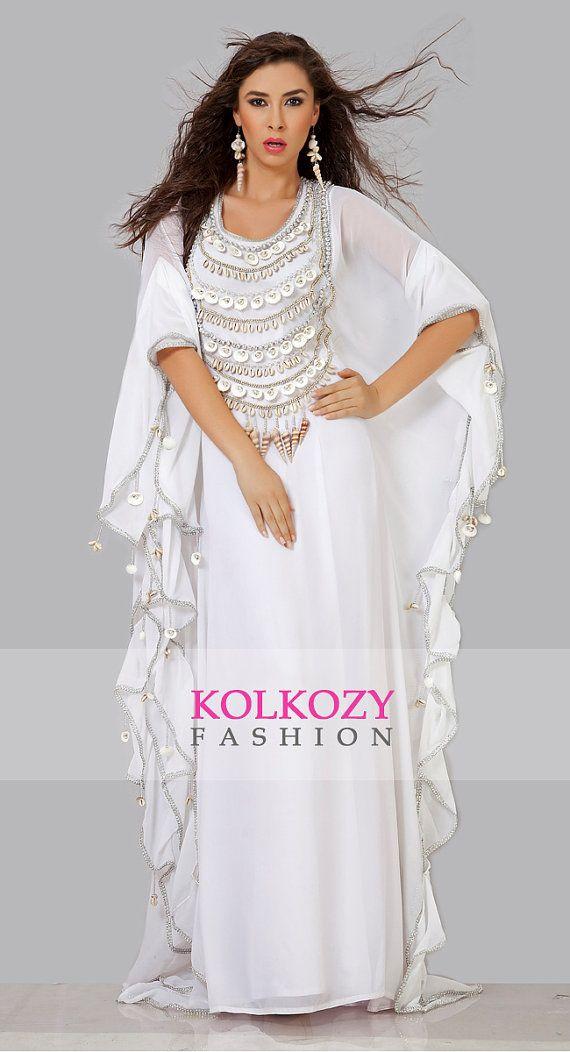 Designer Dubai Caftan / Kaftan Dress - Fancy Arabic Kaftan