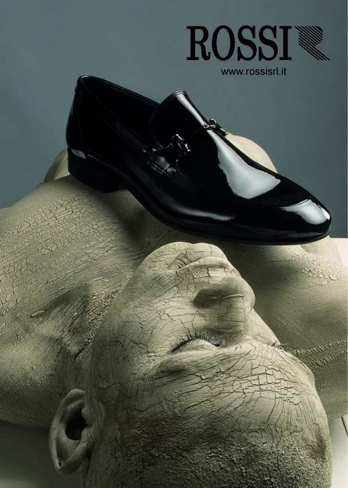 ADV Rossi - no words, only shoes
