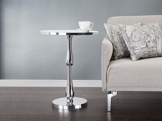 Nowoczesny stolik kawowy - ława - aluminium - MALABO ✓ Kupuj bez ryzyka z odroczonym terminem płatności z gwarancją 365 dni na zwrot towaru