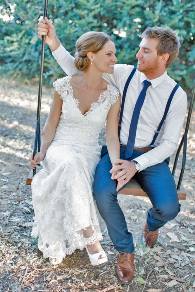 18 Rustic Groom Attire For Country Weddings ❤ Waistcoats, suspenders, caps and jeans all combine to achive rustic groom attire. See more: http://www.weddingforward.com/rustic-groom-attire/ #weddings #groom