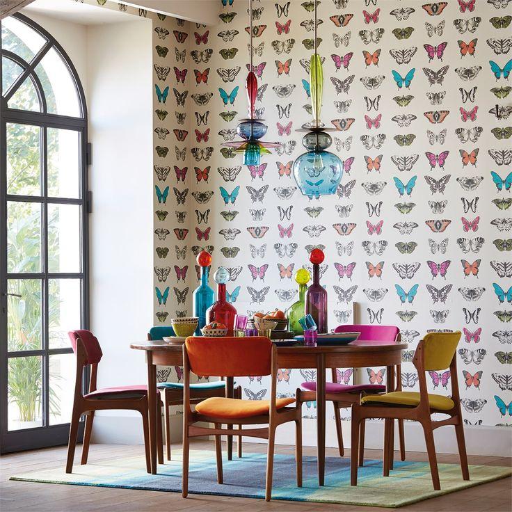 Products   Harlequin - Designer Fabrics and Wallpapers   Papilio (HAMA111079)   Amazilia Wallpapers