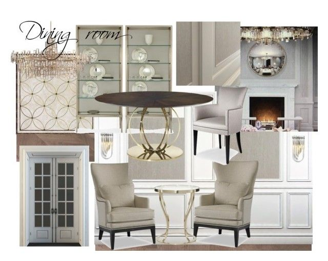 Dining ZR by naala-art on Polyvore featuring polyvore, interior, interiors, interior design, home, home decor, interior decorating and Bel Mondo