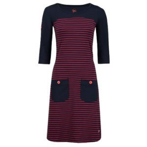 Dress Tori Stripe Red-Bleu