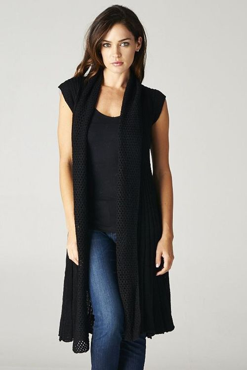 Kira Sweater in Black