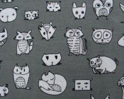 Stenzo animals grey