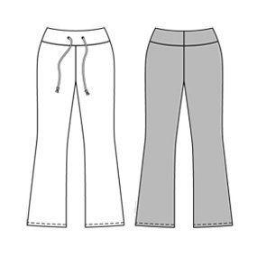 Free Yoga Pants Pattern/Tutorial