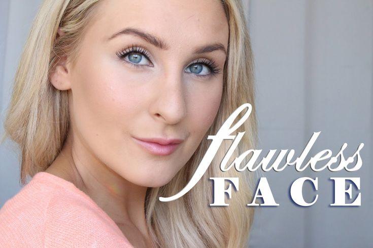 Flawless face, perfekt bas av foundation
