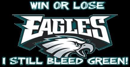 Win or lose, I bleed GREEN