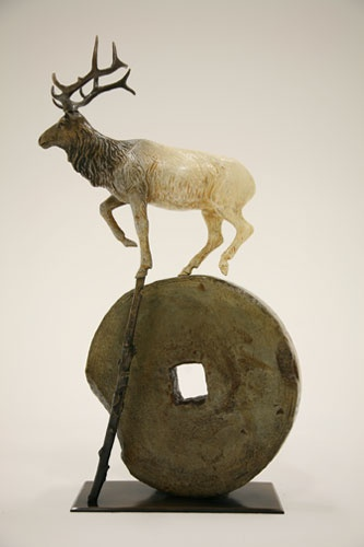 Brad RudeRude Sculpture, Sculpture Instillation, Brad Rude