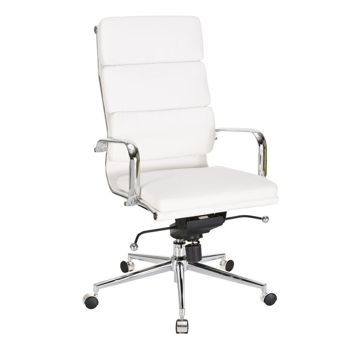 Valencia High Back Chair White - no sore backs here for this tall guy!