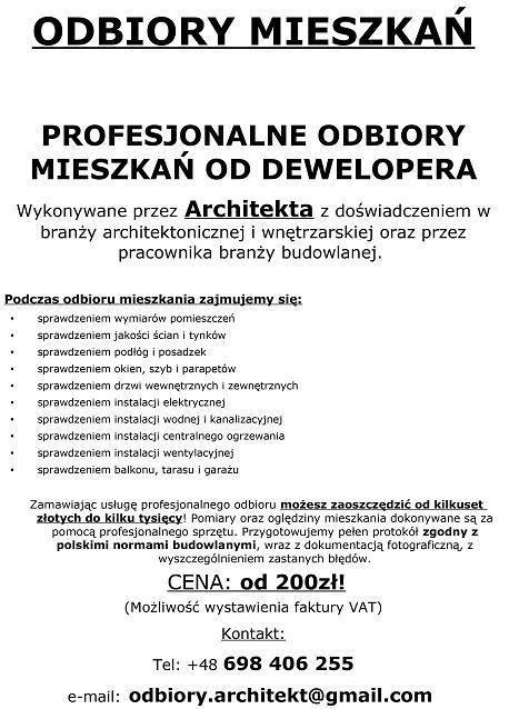 jak odebrać mieszkanie porady Kraków