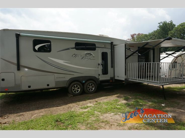 Dang, a porch too?  LOL  Used 2011 Open Range RV 340FLR Travel Trailer at Leo's Vacation Center | Gambrills, MD | #12142541