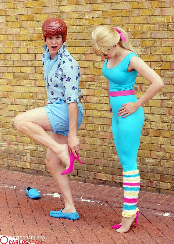 Ken and Barbie Toy Story 3 | Photo by Carlos Adama