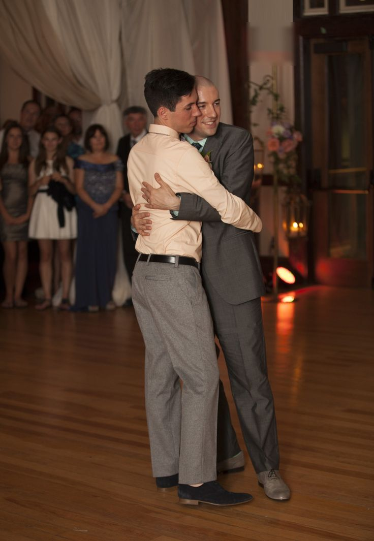 First dance (aka hug & sway)