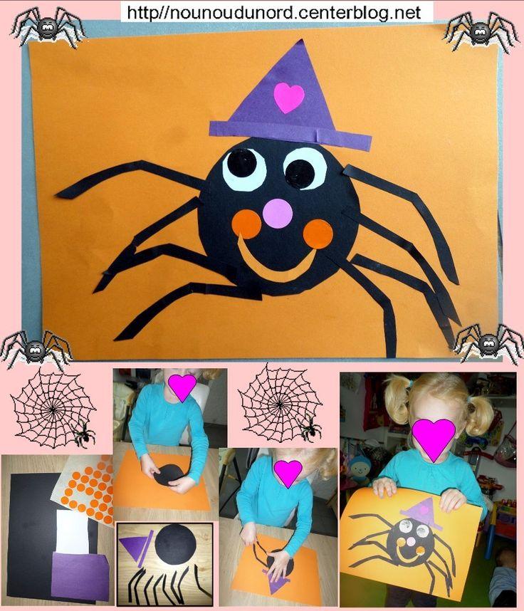 Araignée bien sympa au chapeau pointu http://nounoudunord.centerblog.net/4547-araignee-bien-sympa-au-chapeau-pointu