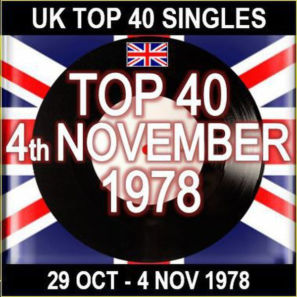 UK TOP 40 SINGLES CHART FOR W/E 4th November 1978.  The full chart can be found here... http://www.officialcharts.com/charts/uk-top-40-singles-chart/19781029/750140/  Get involved...if you like this show then please click FAVOURITE, REPOST and FOLLOW me Join the Facebook group for more information on my shows:  https://www.facebook.com/groups/154292494994607