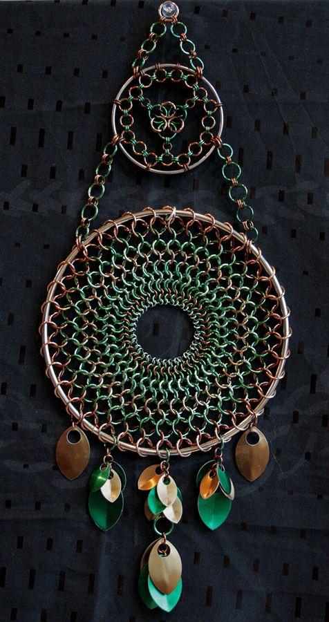 Huge Earth Tone Dreamcatcher by Ichi-Black on deviantART