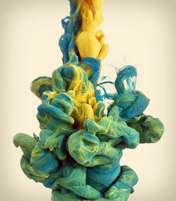 Color Ink Swirls – Les photographies d'Alberto Seveso
