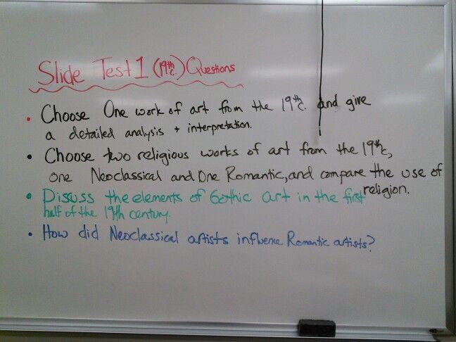 Artwork comparison essay topics