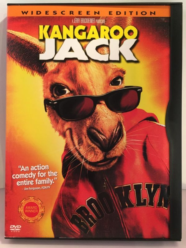 Kangaroo Jack (DVD, 2003, Widescreen) Anthony Anderson Jerry O'Connell
