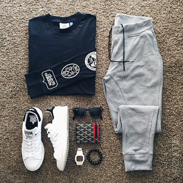 Outfit grid - Gym