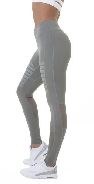 Nero Leggings - Khaki Grey