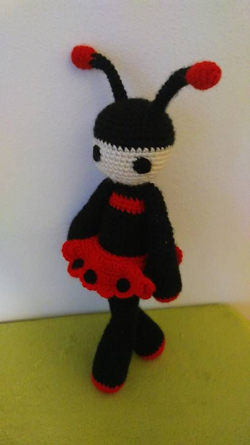 Jamin / Lady L crochet ladybug