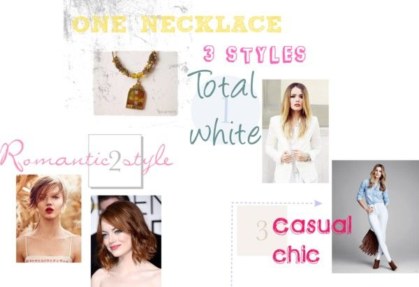 ONE NECKLACE-3 STYLES  NECLACE 15EURO+SHIPPING ORDER:http://mikk.ro/ER6 SEE MORE http://styleitchic.blogspot.gr/2015/05/one-necklace-3-styles.html