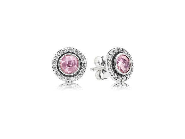 Pandora Brilliant Legacy Stud Earrings Pink Q0031 - Studs