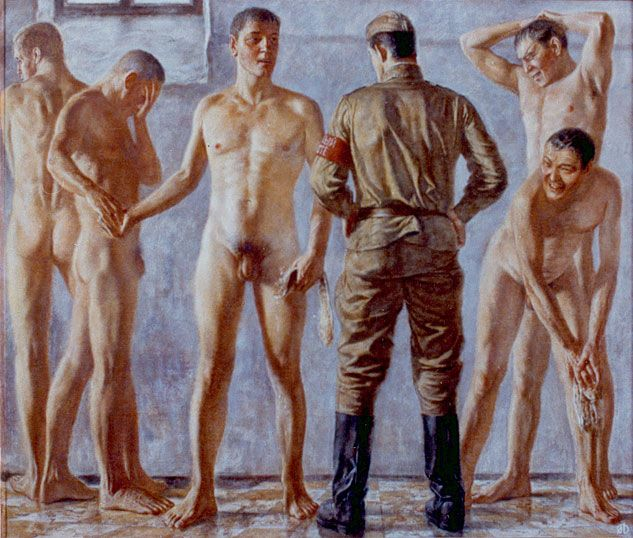 Homosexuality film soldiers bath