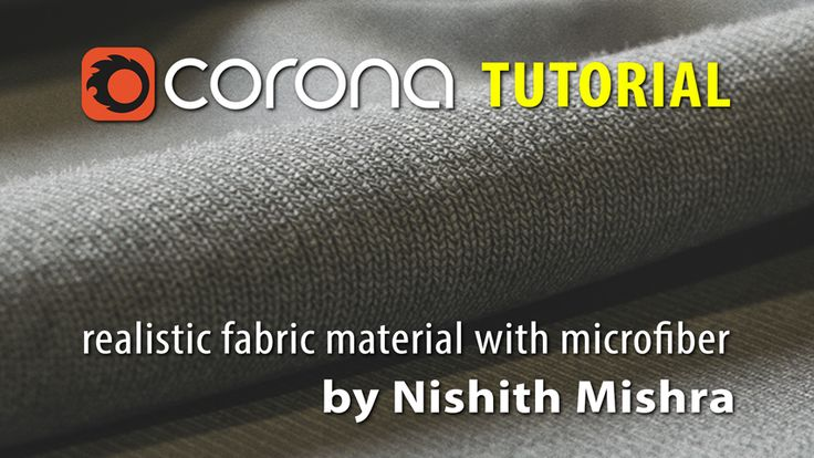 Corona Renderer Tutorial Realistic Fabric Material with Microfibers using Forest Pack Pro or Corona Scatter #archviz #corona #coronarender #coronarenderer #fabric #material #realistic