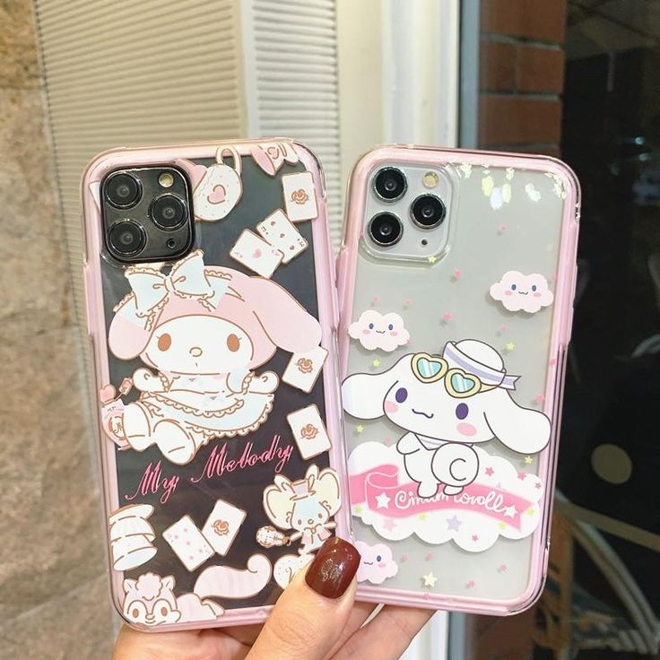 Lovely cinnamoroll phone case for iphone 66s6plus7