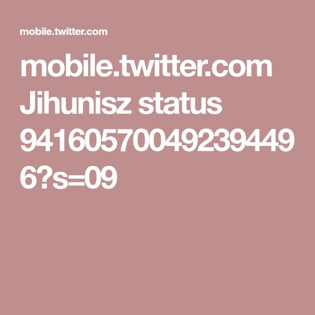 mobile.twitter.com Jihunisz status 941605700492394496?s=09