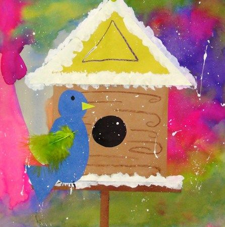 Artsonia Art Museum :: Artwork by McHenry1 -- perhaps do with collage pre-cut pieces?